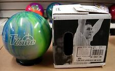 16# 1oz TW 1.7 NIB Bowling Ball Brunswick T ZONE Blue Lagoon