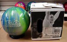 16# 1oz TW 1.7 NIB Bowling Ball Brunswick T ZONE Blue Lagoon