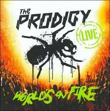 NEW! THE Prodigy - Live Worlds on Fire [CD] AND DVD