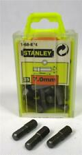 Pack of 25 Stanley 7mm Hex Screwdriver Insert Bit Contractor Bulk Hand Driver A1
