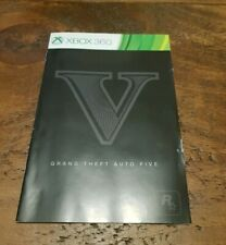 Grand Theft Auto Five V Xbox 360 Game Manual Only
