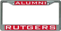 Rutgers University ALUMNI License Plate Frame