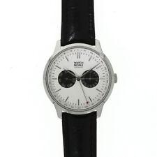 WatchPeople Herrenuhr Tyro white / black