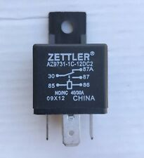ZETTLER 12V DC RELAY  AZ9731-1C-12DC2D2 LOT OF 5