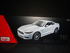 Maisto Ford Mustang GT 2015 50th Anniversary Edition 1/18 Exclusive Ed. 38133