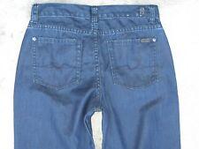 7 For All Mankind Standard Jeans Boys Sz 16 Straight Leg (measures 29 X 32) Blue