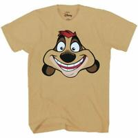 Disney Lion King Timon Face Big Smile T-Shirt