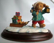 Dept 56 Upstairs Downstairs Bears Henry Bringing Home the Presents 2025-7 w/Box