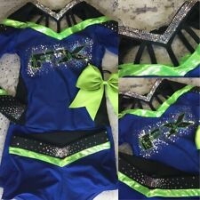 Real Cheerleading Uniform Allstars Youth Sm FX