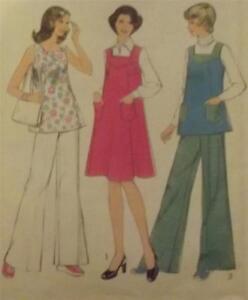 Original Vintage 1975 Outfits Dressmaking Pattern- Style 1028