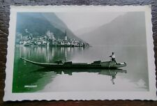 HALLSTATT  BOY BOATING POSTCARD