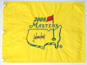 TREVOR IMMELMAN Signed - 2008 MASTERS (WINNER) - Golf Flag