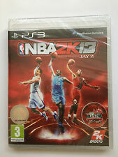 Nba 2k13 Para Sony Playstation 3 (nuevo Y Sellado)
