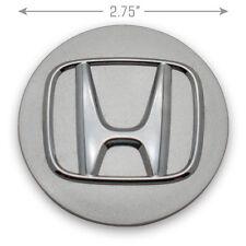 HONDA ACCORD CIVIC CR-V OEM ALLOY WHEEL SILVER CENTER CAP 44732-S9A-A00 #67-5N