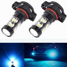 2x 50W H16 5202 High Power LED 2400LM 8000K Ice Blue Fog Lights Bulbs Lamps
