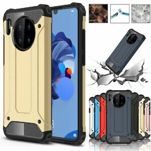 Shockproof Rugged Rubber Hybrid Impact Cover For Huawei Mate 40 Pro+ 20 30 Case