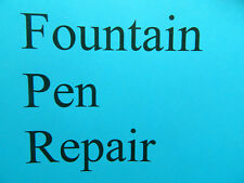 Fountain Pen Repair for Sheaffer Snorkel Fountain Pens