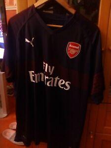 Puma Arsenal Away Short Sleeve Football Shirt Jersey Size XXL
