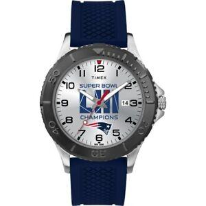 New England Patriots Timex Super Bowl LIII Champions Gamer Watch