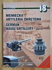 German Naval Artillery, vol II - Miroslaw Skwiot (GunPower 18)