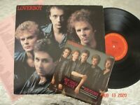 """Loverboy  """"Keep It Up""""   LP  Columbia QC 38703 w/Hot Girls in Love 7"""" Single"""