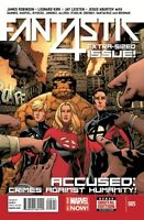 Fantastic Four #5 First Printing Unread New Near Mint Marvel 2014 **17
