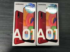 Samsung A01 16gb Dual Sim 2Gb ram, Factory Unlocked, A015M Red New