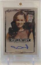 Megan Fox Transformers Leaf Pop Century Signatures Autograph Auto Card Ba-Mf1