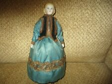 "10 1/2"" Autoperitopatikos Walking Parian Doll All Original Ca, 1862"