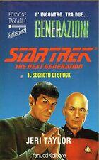 Jery TAYLOR Il segreto di Spock Economica Tascabile 28 Fanucci 1 Edizione 1992