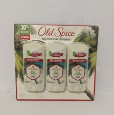 Old Spice FIJI with Palm Tree Anti-Perspirant Deodorant (3 pack) Factory Sealed