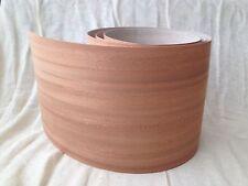 Iron on Pre Glued Sapele(Mahogany) Real Wood Veneer Sheet  2540mm x 250mm