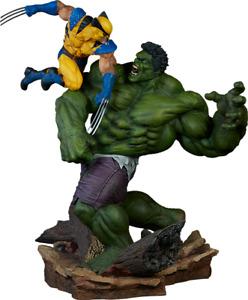 Sideshow Hulk vs. Wolverine Statue Maquette  Exclusive