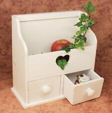 Minikommode Kommode mit 2 Schubladen 12236 Regal 28 cm Schmuckkasten Shabby