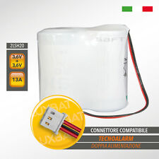 TECNOALARM SAFT 2LSH20 3,6+3,6V 13Ah doppia alimentazione, Batteria al Litio