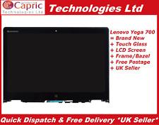 "14"" Digitalizador Pantalla Táctil LCD Montaje para Lenovo Yoga 700-14isk 80qd +"