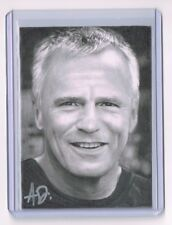 2018 ACEO Sketch Card RICHARD DEAN ANDERSON Jack O'Neill STARGATE 1/1