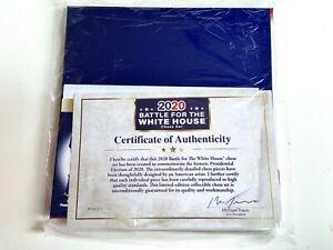 2020 Battle For The White House Chess Set Biden Harris Trump Gold EditionUnused