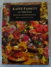 kaffe fassett at the V & A colourful knitting craft reference book