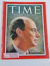 Time Magazine- July 16, 1956- Adlai Stevenson- Vintage