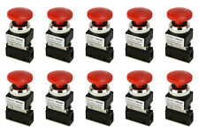 10x Latching Push Button Pneumatic Control Valve 2 Port 2 Way 2 Position 1/8 NPT