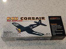 """new Gravity.com ARF airplane F4U Corsair length 16 1/4"""" wing span 20 1/4""""  NIB"""