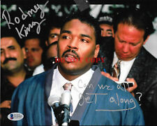 RODNEY KING Signed 8x10 PHOTO Can We All Get Along Civil Rights LA Riot Reprint