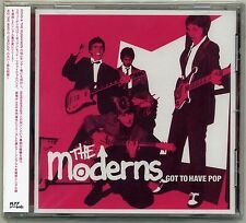 Moderns - Got To Have Pop CD JAPAN PRESS Sweden Mod Power Pop Bruset Docent Död
