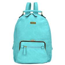 New Dasein Women Handbag Faux Leather Backpack Rucksack Purse School Bag Bookbag