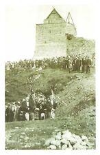 Nostalgia Postcard 1912 Clan Maclean at Duart Castle, Scotland Repro Card NS40