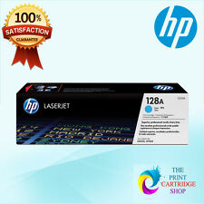 New & Original HP 128A CE321A Cyan Toner Cartridge LaserJet Pro CM1415FN CM1415