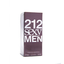 Carolina Herrera 212 Sexy Men 100ml 3.4 oz Eau de Toilette EDT New 100% Original