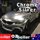 1510 x 300mm Chrome Silver Vinyl Film Wrap Sheet Car Decal Roll Self Adh Sticker