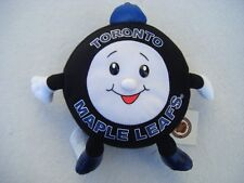 Vintage NHL Toronto Maple Leafs Puck Plush Stuffed Mascot - NEWwTAGS